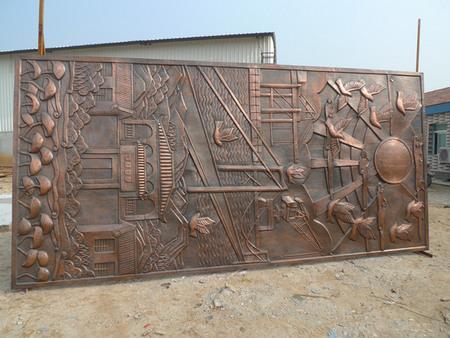 法院浮雕设计制作