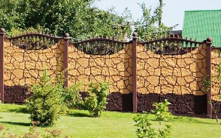 室外实体围墙 - 华峰海瑞玻璃钢制品有限公司
