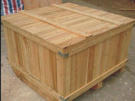 机器木包装箱