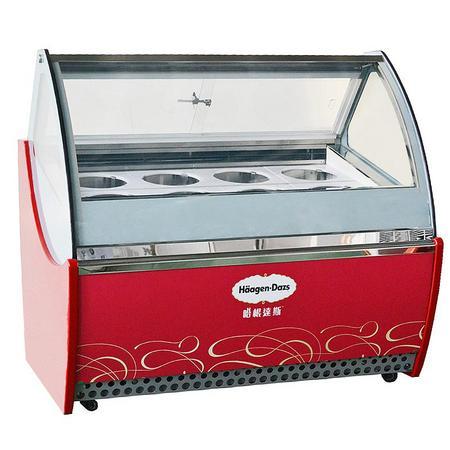 8桶装冰淇淋柜