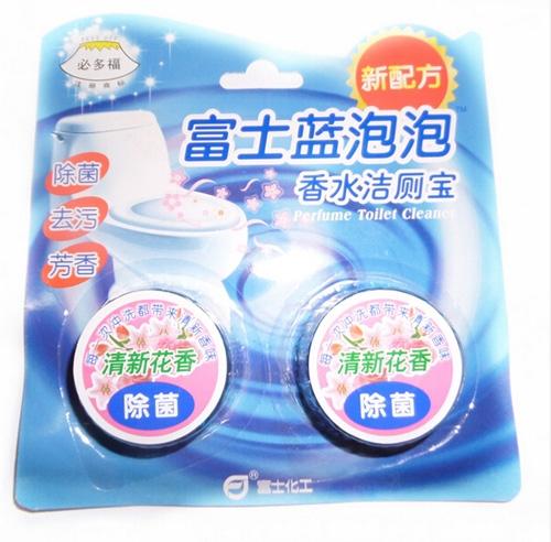 富士蓝泡泡马桶清洁剂