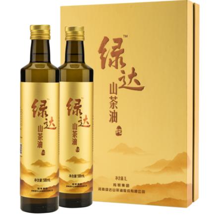 500ML绿达山茶油